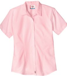 FS010 Dickies Womens Short Sleeve Poplin Classic Shirt