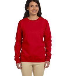 Gildan G180FL Heavy Blend Womens 50/50 Fleece Crew