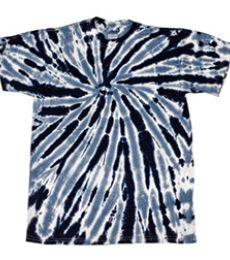 H1100B tie dye Youth Twist Pinwheel Tie-Dyed Tee