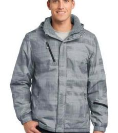 Port Authority J320    Brushstroke Print Insulated Jacket