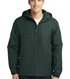 J327 Port Authority® Hooded Charger Jacket