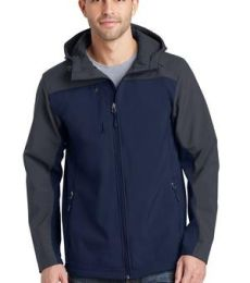 J335 Port Authority Hooded Core Soft Shell Jacket