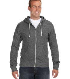 J8872 J-America Adult Tri-Blend Full-Zip Hooded Fleece