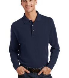 Port Authority Long Sleeve Pique Knit Polo K320