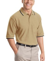 Port Authority Cool Mesh153 Polo with Tipping Stripe Trim K431