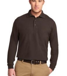 Port Authority Long Sleeve Silk Touch153 Polo K500LS