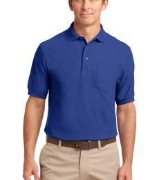 Port Authority Silk Touch153 Polo with Pocket K500P
