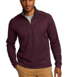 Port Authority K805    Vertical Texture 1/4-Zip Pullover