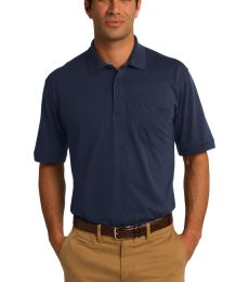 Port & Company KP55P Jersey Knit Pocket Polo