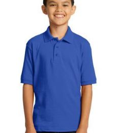 Port & Company KP55Y Youth 5.5-Ounce Jersey Knit Polo.
