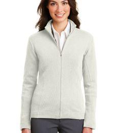 Port Authority Ladies Flatback Rib Full Zip Jacket L221
