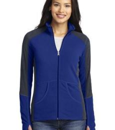 L230 Port Authority® Ladies Colorblock Microfleece Jacket