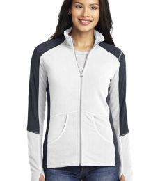 L230 Port Authority® Ladies Colorblock Microfleece Jacket