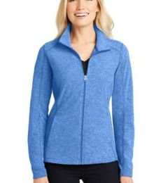 Port Authority L235    Ladies Heather Microfleece Full-Zip Jacket