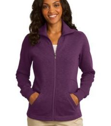 Port Authority L293    Ladies Slub Fleece Full-Zip Jacket