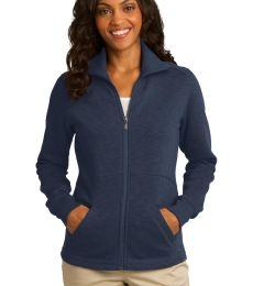 Port Authority L293    Ladies Slub Fleece Full-Zip Jacket