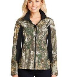 Port Authority L318C    Ladies Camouflage Colorblock Soft Shell