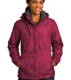 Port Authority L320    Ladies Brushstroke Print Insulated Jacket