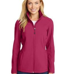 L334 Port Authority Ladies Cinch-Waist Soft Shell Jacket