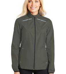 Port Authority L345    Ladies Zephyr Reflective Hit Full-Zip Jacket