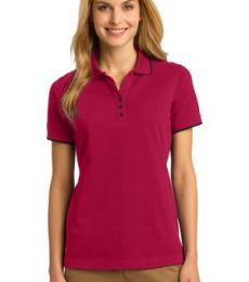 Port Authority L454    Ladies Rapid Dry Tipped Polo