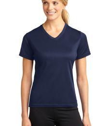 Sport Tek Dri Mesh Ladies V Neck T Shirt L468V