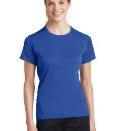Sport Tek Ladies Dry Zone153 Raglan Accent T Shirt L473