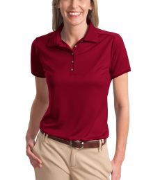 Port Authority Ladies Poly Bamboo Charcoal Birdseye Jacquard Polo L498