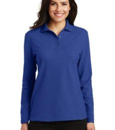 Port Authority L500LS    Ladies Long Sleeve Silk Touch Polo