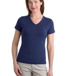 242 L516V NEW Port Authority® - Ladies Modern Stretch Cotton V-Neck Shirt