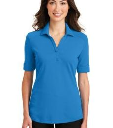 242 L5200 Port Authority Ladies Silk Touch Interlock Performance Polo
