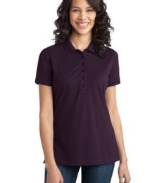 Port Authority L555    Ladies Stretch Pique Polo