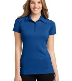 L558 Port Authority® Ladies Fine Stripe Performance Polo
