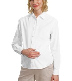 242 L608M CLOSEOUT Port Authority Maternity Long Sleeve Easy Care Shirt