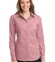 242 L653 CLOSEOUT Port Authority Ladies Chambray Shirt
