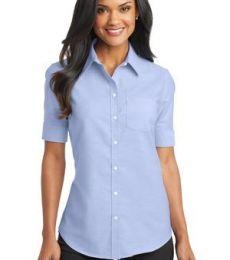 Port Authority L659    Ladies Short Sleeve SuperPro   Oxford Shirt