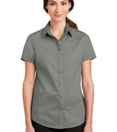Port Authority L664    Ladies Short Sleeve SuperPro   Twill Shirt