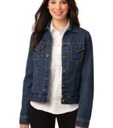 L7620 Port Authority® Ladies Denim Jacket