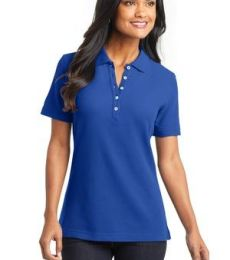 Port Authority L800    Ladies EZCotton Pique Polo