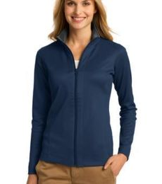 Port Authority L805    Ladies Vertical Texture Full-Zip Jacket