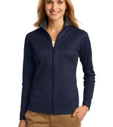 Port Authority L805    Ladies Vertical Texture Full-Zip Jacket