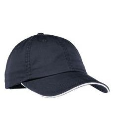 Port Authority LC830    Ladies Sandwich Bill Cap with Striped Closure