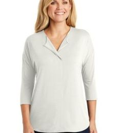 242 LK5433 Port Authority Ladies Concept 3/4-Sleeve Soft Split Neck Top