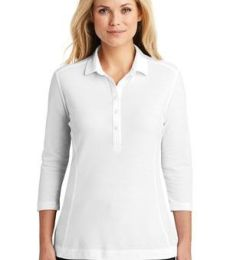 242 LK581 Port Authority Ladies Coastal Cotton Blend Polo