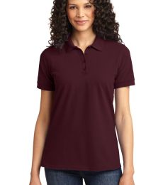 LKP155 Port & Company® Ladies 50/50 Pique Polo