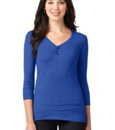 LM1007 Port Authority® Ladies Concept Stretch 3/4-Sleeve Scoop Henley