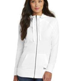 1001 LNEA122 New Era  Ladies Sueded Cotton Full-Zip Hoodie