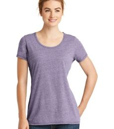 1001 LNEA130 New Era  Ladies Tri-Blend Performance Scoop Tee