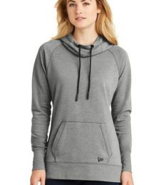 1001 LNEA510 New Era  Ladies Tri-Blend Fleece Pullover Hoodie