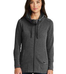 1001 LNEA511 New Era  Ladies Tri-Blend Fleece Full-Zip Hoodie